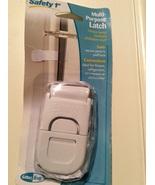 Safety 1st Multi-Purpose Latch for Freezer, Refrigerator, Microwave, Dis... - $9.55