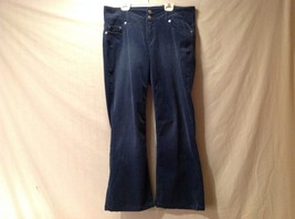Great Condition London Jean Size 10 Cotton Blend Blue Corduroy Stretch Pants