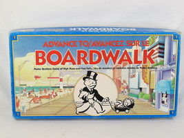 Advance to Boardwalk Board Game 1985 Parker Brothers 100% Complete Excel... - $12.75