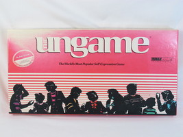 The Ungame 1989 Board Game Tell It Like It Is 100% Complete Near Mint - $17.70