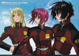 "Gundam Seed Destiny ""Minerva Crew"" Photo Collection Cell / Cel - $4.88"