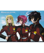 "Gundam Seed Destiny ""Minerva Crew"" Photo Collec... - $4.88"