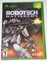 XBOX - ROBOTECH BATTLE CRY - TDK (Complete with Instructions) - $12.00
