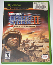 XBOX - CONFLICT: DESERT STORM II BACK TO BAGHDAD (Complete with Instruct... - $6.50