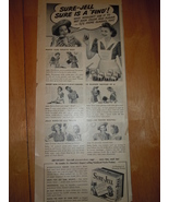 Vintage Sure Jell  Magazine Advertisement From the 1940's - $3.99