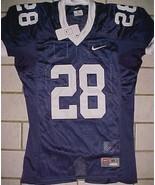 Penn State Nittany Lions 28 NCAA Big Ten Nike Blue White Boys Jersey M N... - $44.50