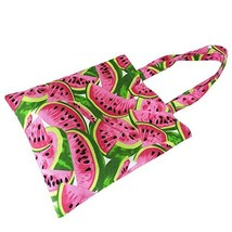 Caixia Women's Cotton Watermelon Print Canvas Tote Shopping Bag - $12.97