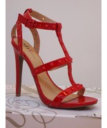 women's High Heels sizes 7 7.5 shoes Valley red... - $29.99