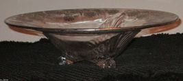 """SILVER OVERLAY DISH BOWL FOOTED 12"""" - $58.40"""