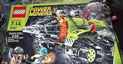 USED LEGO POWER MINERS THUNDER DRILLER (8960)