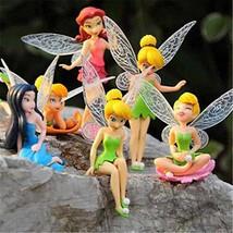 Lot Anime Cartoon Tinkerbell Fairy PVC Action F... - $12.00