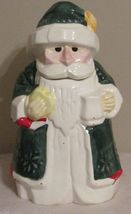 SANTA CLAUS SAINT NICK COOKIE JAR - $8.94