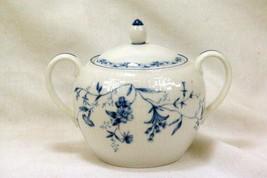Noritake 2001 Regis Blue #4235 Covered Sugar Bowl - $13.85