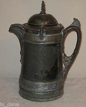REED & BARTON SILVER PLATED WATER PITCHER LATE 1800'S - $83.47