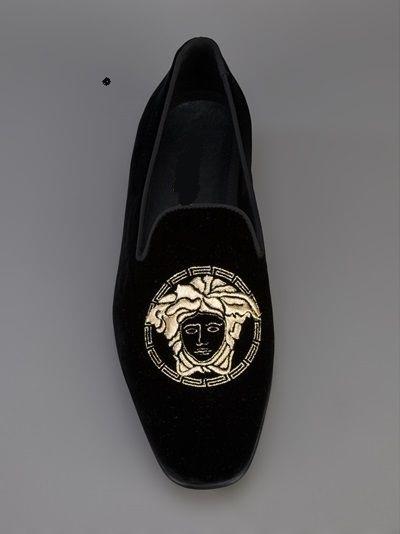 Handmade Men Velvet embroidered shoes,slippers, Men shoes, Mens velvet slippers