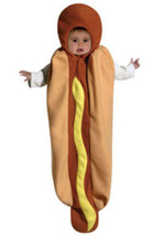 Newborn Hot Dog Halloween Costume Size 0-9 Months - $19.00