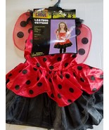 Totally Ghoul LadyBug  Child Costume Outfit Toddler M 6-8 NIP - $19.78
