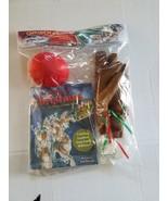 Car Reindeer Dress Up Costume Antler Kit With Nose & Story Book NIP - $13.85