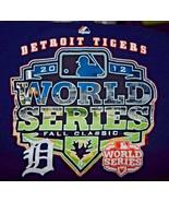 Detroit Tigers World Series Fall Classic 2012 Shirt Mens Size XL MLB Bas... - $11.83
