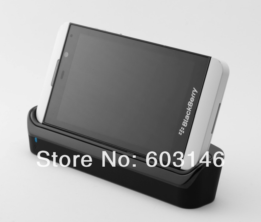 hot sale factory charging cradle usb desktop sync dock for blackberry z10 free s