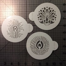 Peacock Feather Stencils - $4.50