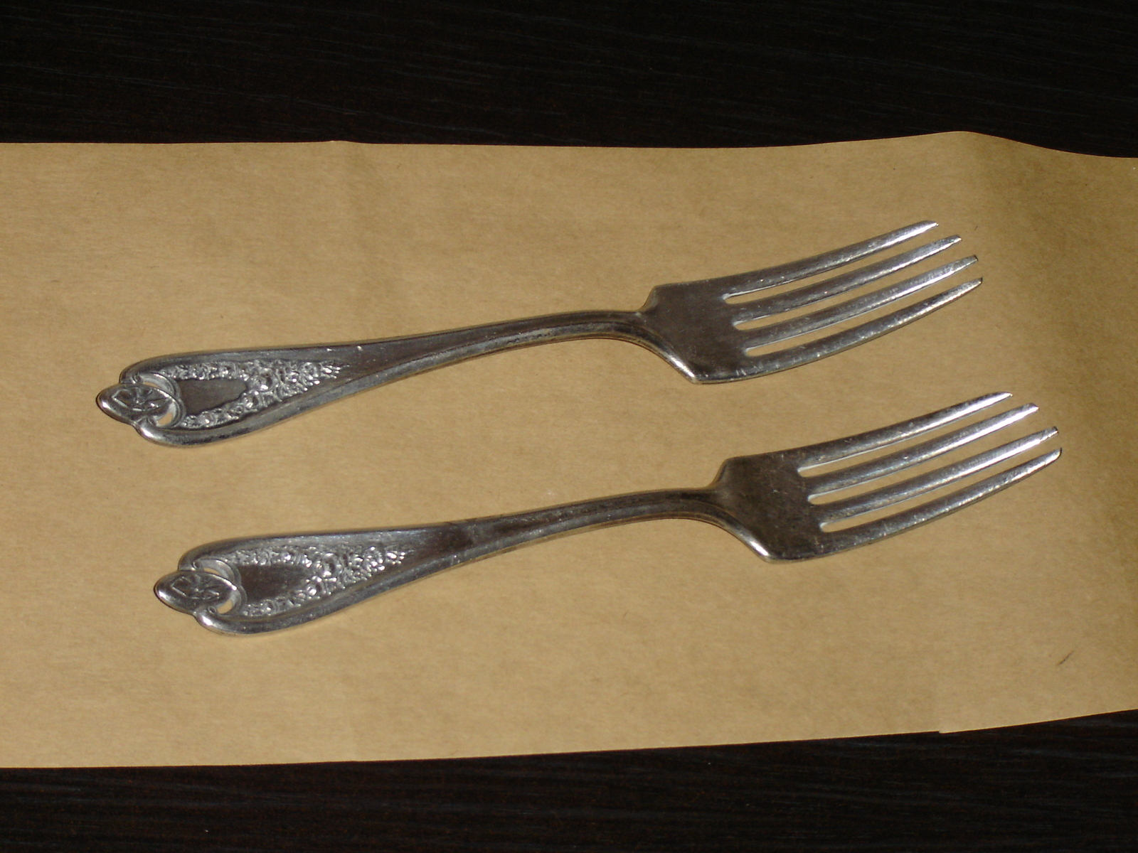 """Madam Jumel by  Whiting Sterling Silver Pastry Fork 3-Tine 6 1//4/"""""""