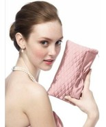 Dessy Taffeta Quilted Clutch - Style HBAG4.....Bisque - $14.99