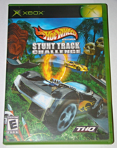 XBOX - Hot Wheels STUNT TRACK CHALLENGE - THQ (Complete with Instructions) - $15.00