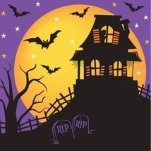 House of Fright Halloween Lunch Napkins 18 Per Pack - $10.46