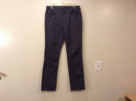 "Kenneth Cole Women's Size L ""30/32"" Gray Pants Black & White Weave Straight Leg"
