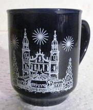 Cobalt Blue Der Salzburger Weihnachtsmarkt Ceramic Coffee Mug - $16.50