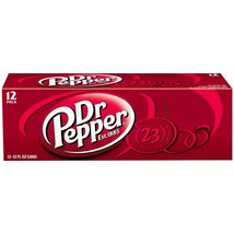 Dr Pepper, 12 fl oz cans, 12 pack - $19.58