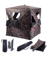 Deer Hunting Blind Portable Camo Hunter Ground ... - $122.97