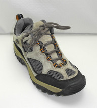 Merrell Baja Ventilator Ecru Suede Leather/Grey Mesh Hiking/Trail Shoes ... - $29.40