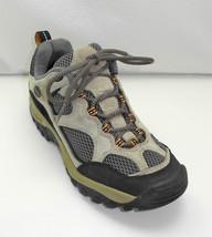 Merrell Baja Ventilator Ecru Suede Leather/Grey Mesh Hiking/Trail Shoes - 7.5 - $29.40