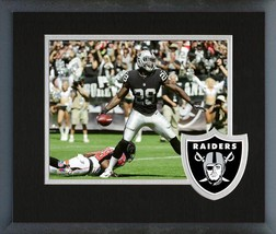Latavius Murray 2016 Oakland Raiders - 11x14 Team Logo Matted/Framed Photo - $42.95