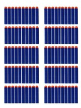 Smart Toys 1000 Blue foam darts - Refill pack - Foam bullets w/ Orange s... - $72.54