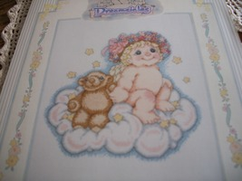 Teddy and Me Dreamsicles Cross Stitch Kit: Comes with Floss, Fabric, Nee... - $15.00
