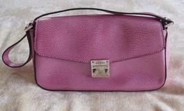 Guess Women's Pink Pebbled Handbag/Shoulder Bag - $14.85