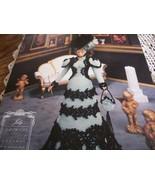 July Gibson Girl Fashion Doll Crochet Pattern  - $12.00