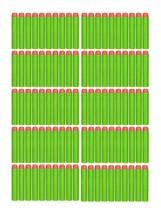 Smart Toys 300 Green Foam Darts Refill Pack - Foam bullets w/ Orange sof... - $29.02