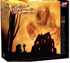 Board Game Betrayal at House on the Hill Widow'... - $34.77