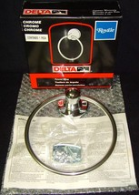 Brand New in Box•Delta•Royale•Chrome•Towel Ring•Model No 74022C•Brand New in Box - $8.99