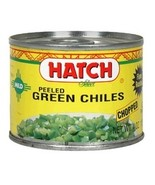 Hatch Farms Green Chilies, Hot, Diced -24x4 Oz- - $88.95