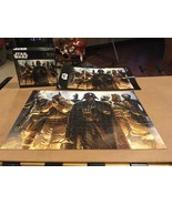 Star Wars Buffalo Darth Vader Boba Fett Jigsaw Puzzle 500 Pieces Bounty Hunter - $10.99