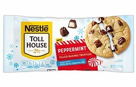 Nestle Tollhouse Peppermint Filled Baking Truffles 9 oz