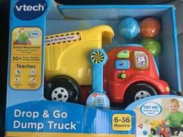"""Brand NEW """"VTech Drop and Go Dump Truck"""" It Sings, Talks Teaches Music Lights - $15.83"""