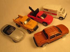 Lot of 5 MAISTO Diecast Cars Ambulance BMW Z8 Ford Sport etc 1:64 [Z203d6b] - $4.78
