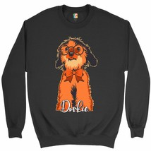 Adorable Dorkie in Glasses Sweatshirt I Love My Pet Toy Dog Owner Crewneck - $20.73+