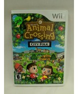 Animal Crossing City Folk Wii - $18.50